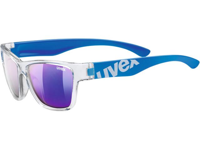 UVEX Sportstyle 508 Occhiali Bambino, clear blue/blue